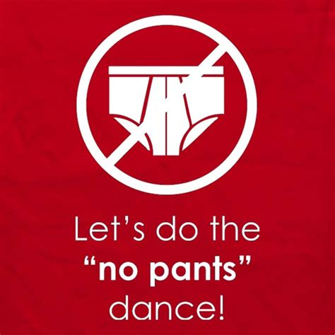 Let's Do The No Pants Dance Apron By CharGrilled