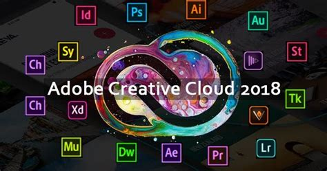 Direct Download Adobe Creative Cloud CC 2018 Collection