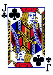 jack of clubs - Wiktionary