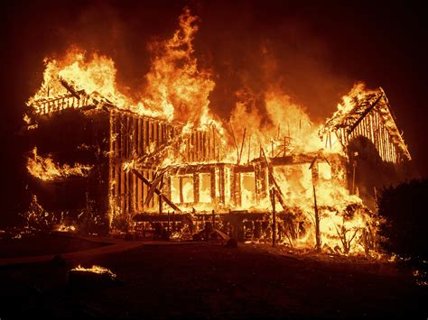 Wildfire Destroys Most Of Butte County Town Of Paradise