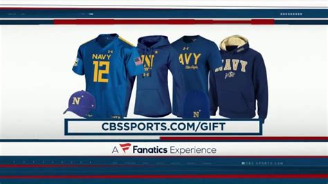 CBS Sports Shop TV Commercial, 'Army and Navy Gear: Gift