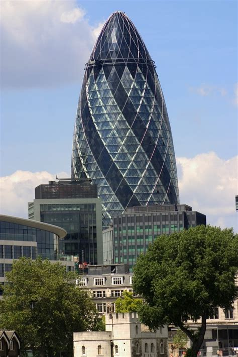 The Gherkin or 30 St Mary Axe London | Nearby hotels