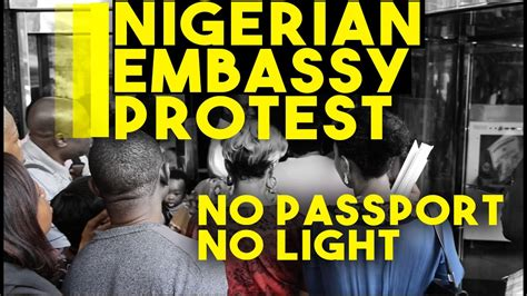 MUST WATCH: Nigerians Protest At Nigerian Consulate In New