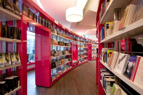 » BOOKSTORES! Paagman bookstore by CUBE Architects, The