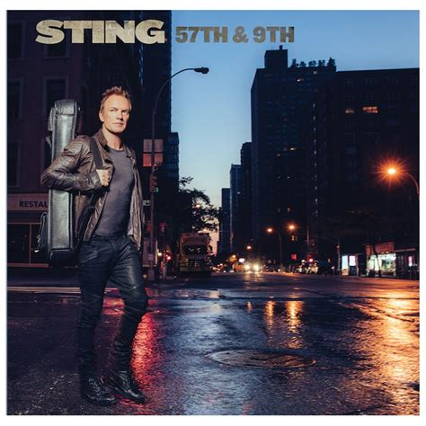 Sting - 57th & 9th   Album Reviews   Consequence of Sound