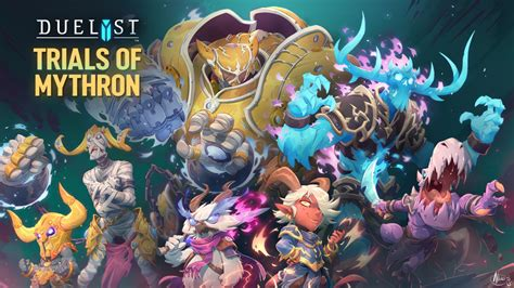 """Duelyst - """"Trials of Mythron"""" Expansion Trailer"""