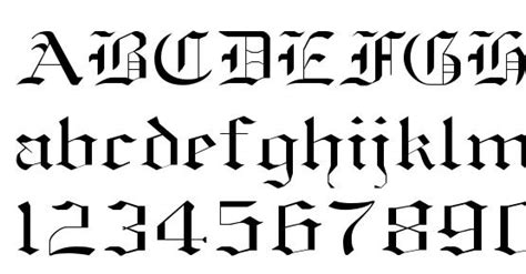 Old english normal Font Download Free / LegionFonts