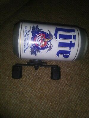 Miller Light Beer Can Fishing Reel Never Used Excellent