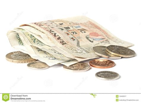Pound Sterling stock image