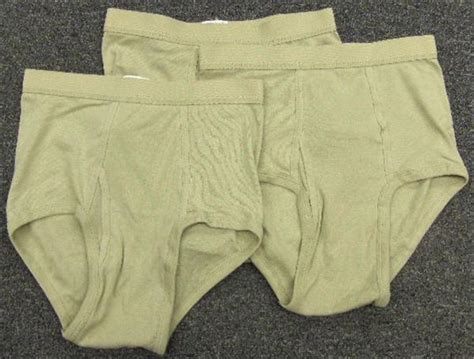 100% Cotton Military Drawers - Briefs Style - SAND