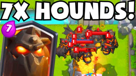Clash Royale 7 LAVA HOUNDS | LavaLoonion Strategy Gameplay