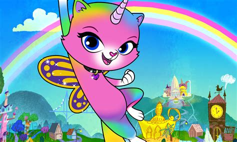 'Rainbow Butterfly Unicorn Kitty' Takes Off with Jetpack