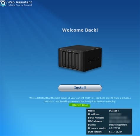 Recover failed Synology NAS DS1515 – How To HelpDesk