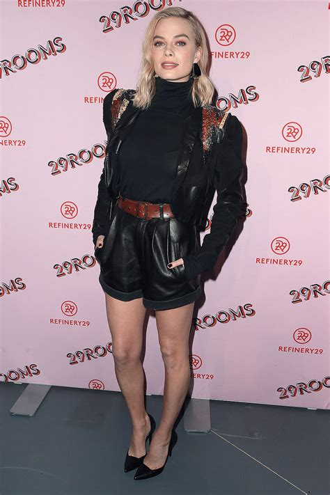Margot Robbie attends Refinery29 29Rooms LA - Leather