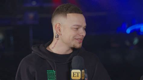 Kane Brown Shows Off New Neck Tattoo For Daughter Kingsley