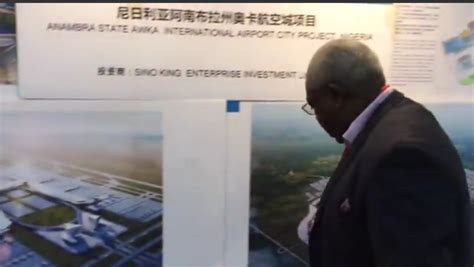 The project is being constructed by the Chinese Aviation