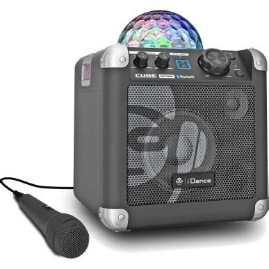 iDance BC100 Black Bluetooth speaker with microphone for
