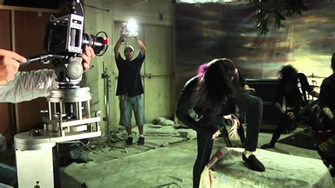 """Motionless In White - Behind The Scenes of """"Abigail"""" Music"""