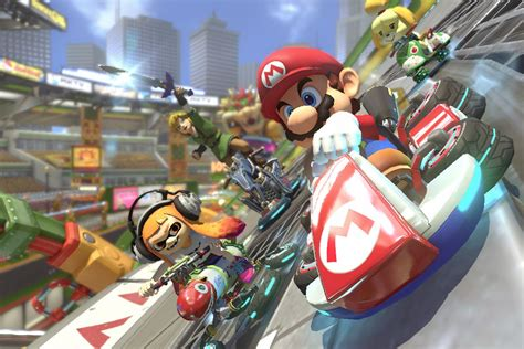 Reminder: Mario Kart 8 Deluxe — and any Switch game — has