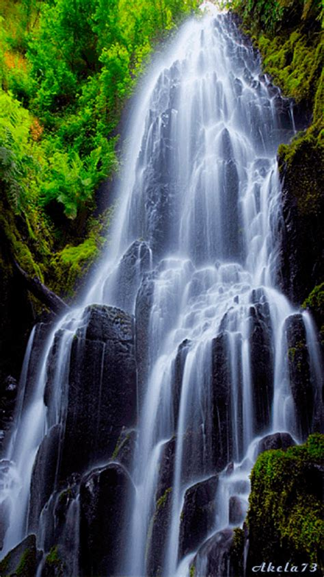Download Waterfall Animated Gif Wallpaper Gallery